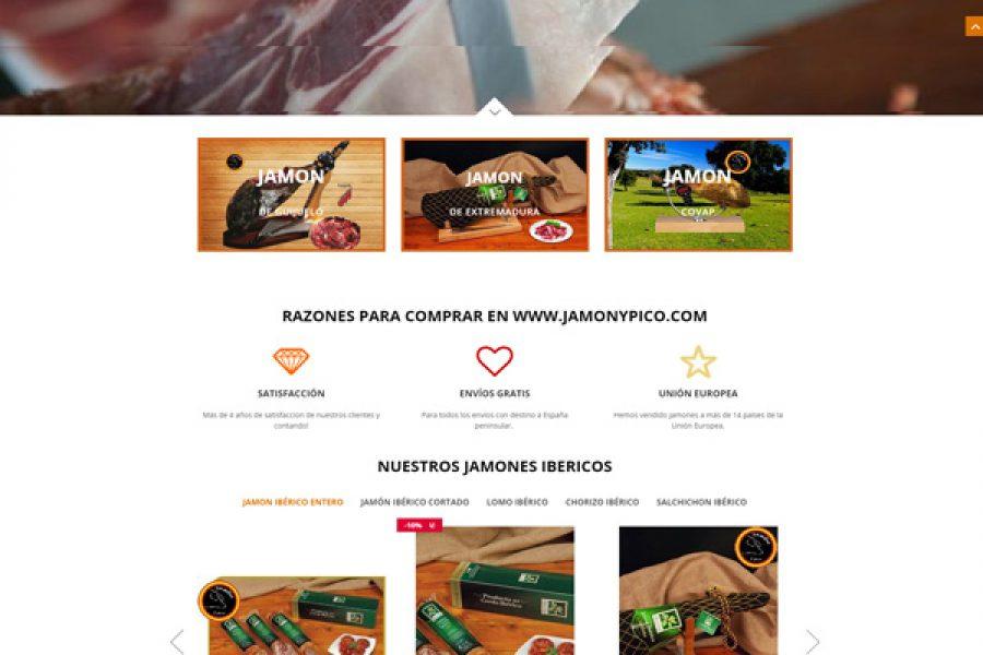 Tienda online Madrid Jamón y pico