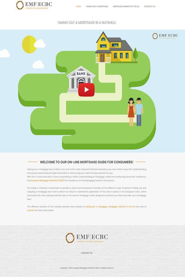 Web corporativa Your Mortgage