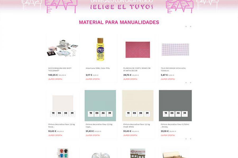 Tienda online Mostoles – La Pecera Rosa