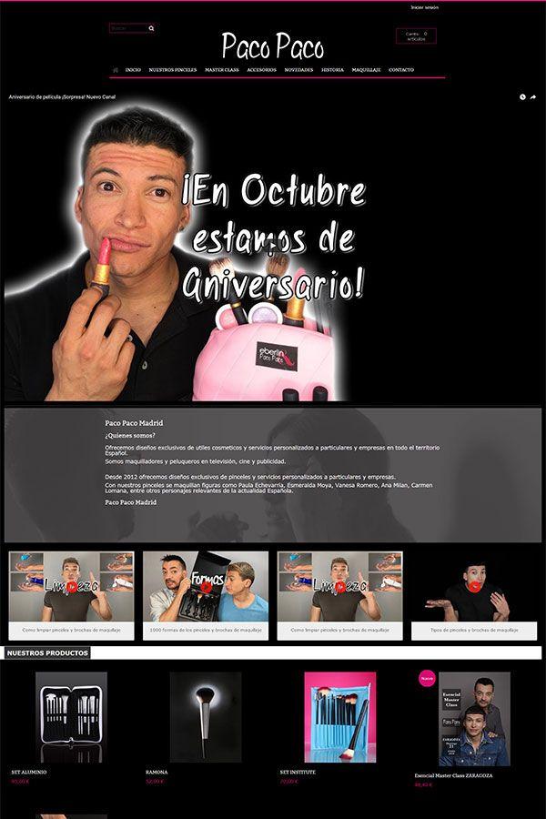 Actualizacion tienda online paco paco madrid