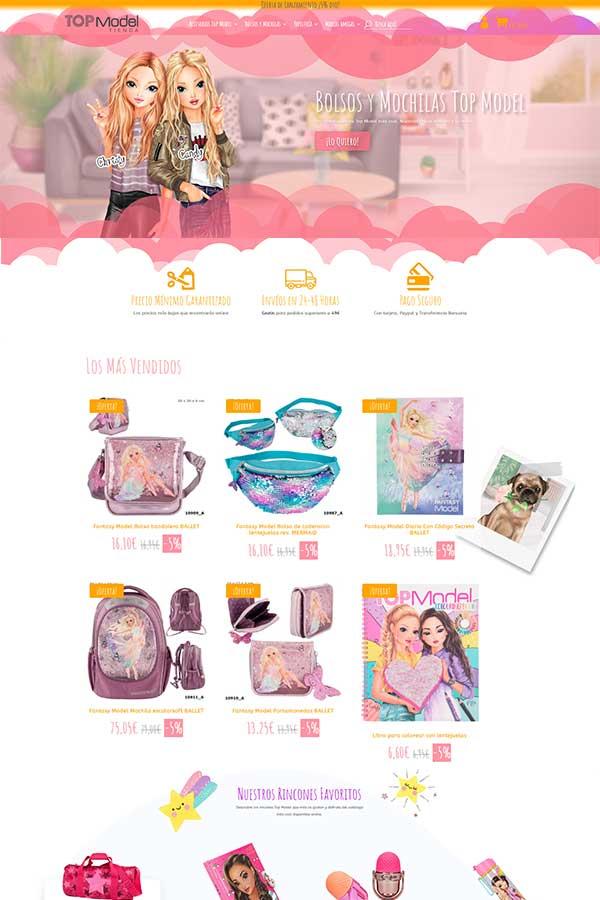 Tienda online Top Model